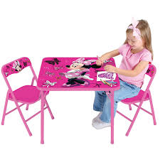 Minnie Mouse Room Decorations Walmart by Disney Minnie Mouse First Fashionista Activity Table Set Walmart Com