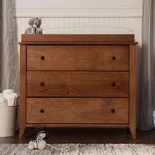 davinci highland 3 drawer changer dresser in chestnut free shipping
