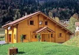 chalet de montagne en kit maisonbois chalet fabriqué par poirot constructions bois