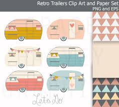 Camping Trailer Clipart