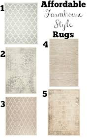 Transitioning To Farmhouse Style Shopping Guide RugsFarmhouse Area RugsRustic