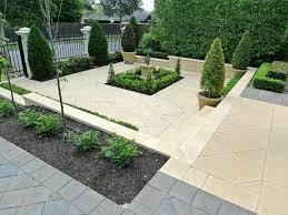 lovely amenager parterre devant maison 3 jardin zen avec