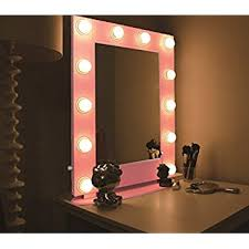 Makeup Vanity Table With Lights And Mirror by Amazon Com Chende White Hollywood Makeup Vanity Mirror With Light