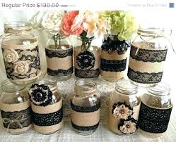 Decorative Mason Jars Hand Painted And Decorated