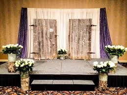 Rustic Wedding Ceremony Lachefs Lachefsdecor Weddingceremony Decor