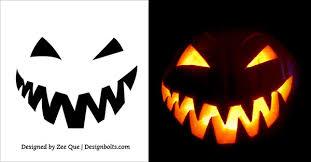 Scariest Pumpkin Carving by 5 Free Scary Halloween Jack O U0027 Lantern Pumpkin Carving Stencils