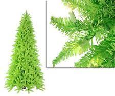 9 Slim Christmas Tree Prelit by 9 U0027 Prelit Christmas Tree Ebay