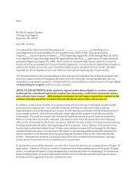 Letter Intent Example Graduate School