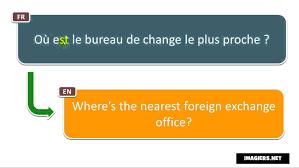 bureau de change fr how to pronounce où est le bureau de change le plus proche