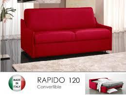 canape lit 2 3 places convertible ouverture rapido 120cm