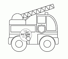 Medquit » Coloring Fire New Toy Fire Truck Coloring Page For ...