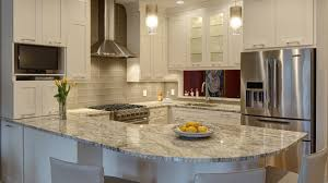 Open Concept Kitchen and Family Room bo Drury Design