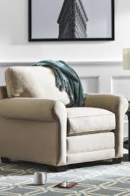 Round Arm Performance Fabric Chair