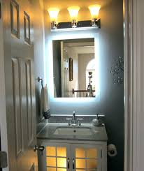 mirror wall mounted lighted makeup mirror lighted bathroom
