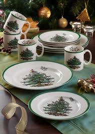 Spode Christmas Tree Mugs With Spoons by Spode Christmas Tree Mug Set Of 4 Spode Uk