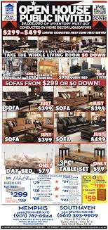 home decor outlets open house public invited shopping ads from