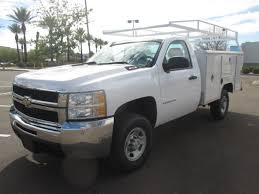 100 Chevy Utility Trucks USED 2008 CHEVROLET SILVERADO 2500HD SERVICE UTILITY TRUCK FOR