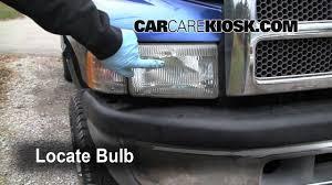 1997 dodge ram turn signal headlight and tailight bulb change