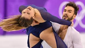 Frances Gabriella Papadakis And Guillaume Cizeron Compete In The Ice Dance