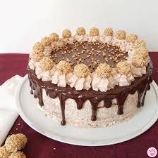 giotto dripe cake sahnehäubchen kuchen rezepte einfach