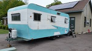 No Not That Amsterdam The One In New York State About 30 Minutes West Of Albany Find Out More This Vintage Renovated Camper On Craigslist Ad