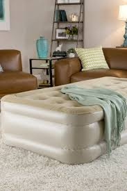 Serta Raised Air Bed by 5 Ways To Make Your Air Mattress More Comfortable Overstock Com