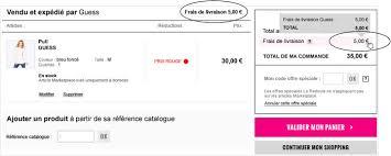 code la redoute frais de port gratuit marketplace by la redoute la redoute