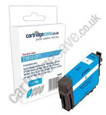 Compatible High Capacity Cyan Epson 18XL Printer Cartridge