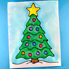 Once Youre Happy With The Way Glue Flows Use A Steady Hand To Trace Lines Of Your Christmas Tree Black 3