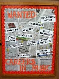 OA BCIG Middle School Music Bulletin Boards Galore