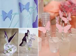 Easter Craft Ideas Paper Butterflies Straws Decor