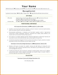 Inspiration Sample Resume For Receptionist In Law Firm Your 5 Office