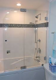 Bathtub Splash Guard Glass by Martin Shower Door Company Gallery Frameless Semi Frameless