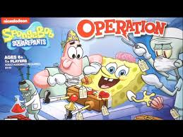 SpongeBob SquarePants Operation From Hasbro
