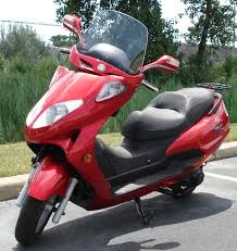 A Unique Feature Of Race Folding Motor Scooters