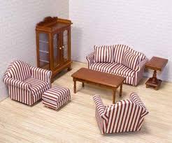 puppenhaus wohnzimmer puppenhausmöbel miniaturen 1 12