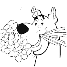 Scooby Doo Coloring Pages Copy Zoe