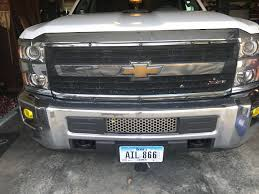 Cover Large Lower Grill Opening - Page 2 - 2015-2019 Chevy Silverado ...