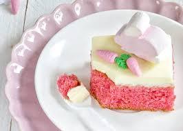 ein kleiner rosa osterkuchen traum oder vanille