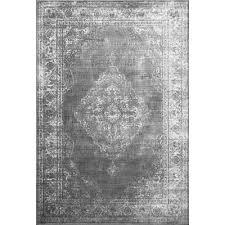 wisser gray rug teppich esszimmer teppich dunkler teppich