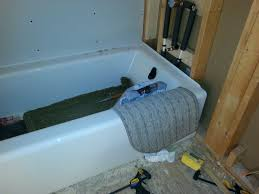Kohler Villager Tub Rough In by Installing Kohler Cast Iron Tub Alcove On Plywood Floor Terry