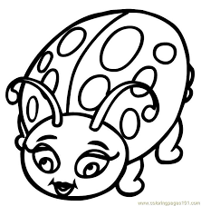 Pictures Cute Ladybug Coloring Pages