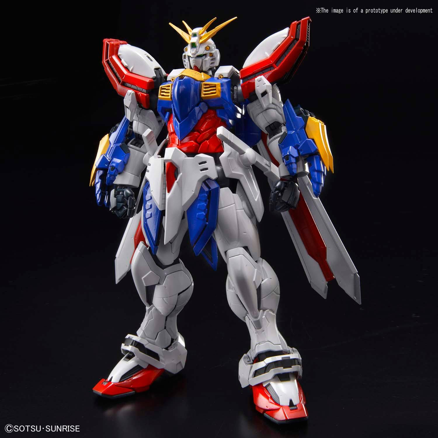 God Gundam Hi-Resolution Model Kit - G Gundam