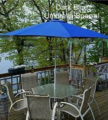 Solar Lighted Patio Umbrella by 8 Best Blue Umbrellas Images On Pinterest Patio Umbrellas Solar