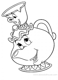 Image Detail For Love Tea Cup Colouring Pages