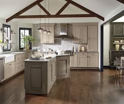 Fabulous Kitchen Cabinet Accents These Taupe Cabinets Are Shown With Perimeter Cabinetry In
