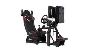 boulanger siege raceroom rr3055 siège de simulation de course simulation auto