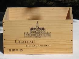 caisse a vin en bois caisses de vin vides 6 bouteilles vendues par pack de 6 caisses