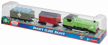 Amazon.com: Thomas & Friends Fisher-Price TrackMaster, Duck's Close ... Thomas And Friends Troublesome Trucks Toys Electric Train T041e Dodge Trackmaster And Fisherprice Criss Cheap Find Deals On Line At 1843013807 Bachmann Trains Truck 1 Ho Scale Similiar The Tank Engine Caboose Keywords Fun Story Rosie With 2 Troublesome Trucks And Balloon Cargo Thomas Friends Custom Lot G Makes A Mess Trackmaster Wiki Fandom T037e Dennis