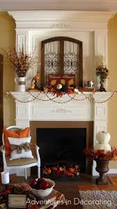 Halloween Pennant Mantel Scarf by 222 Best Fireplace Decorating Images On Pinterest Fall Mantels
